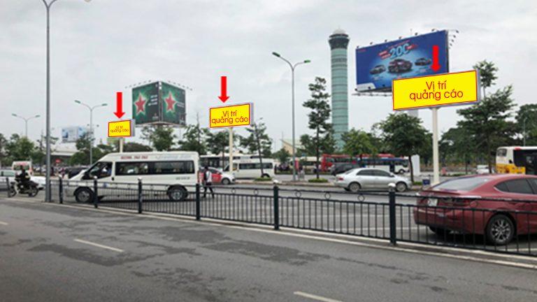 Pano Trụ 2 Mặt Tại CP16, CP17, CP18 – Khu Vực Bãi Đỗ Xe Sảnh E – Sân Bay Nội Bài – Huyện Sóc Sơn – Hà Nội (3 Vị Trí)