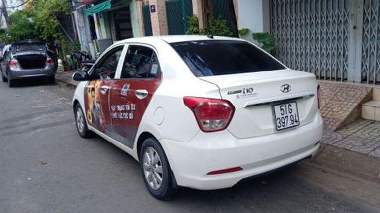 Quảng Cáo Dán Decal Trên Xe – Thừa Thiên Huế