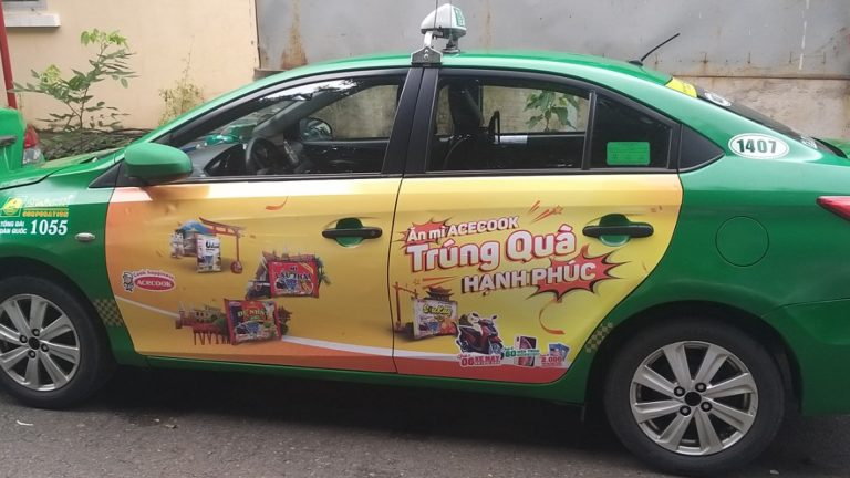Quảng Cáo Dán Decal Trên Xe – Tuyên Quang