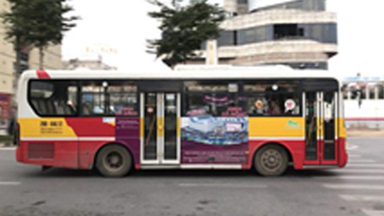 Quảng Cáo Tràn Kính Xe Bus Tại Phú Thọ