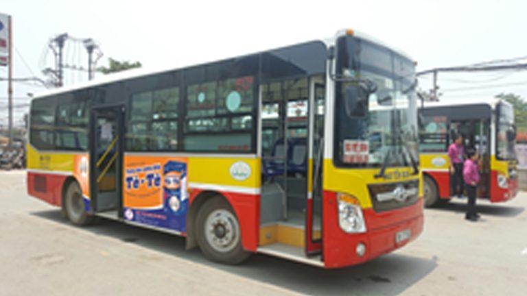 Quảng Cáo Tràn Kính Xe Bus Tại Quảng Ninh