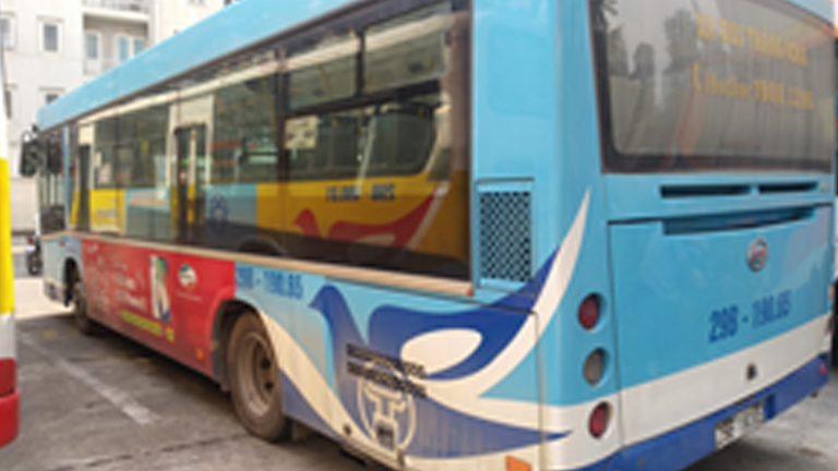 Quảng Cáo Tràn Kính Xe Bus Tại Tây Ninh