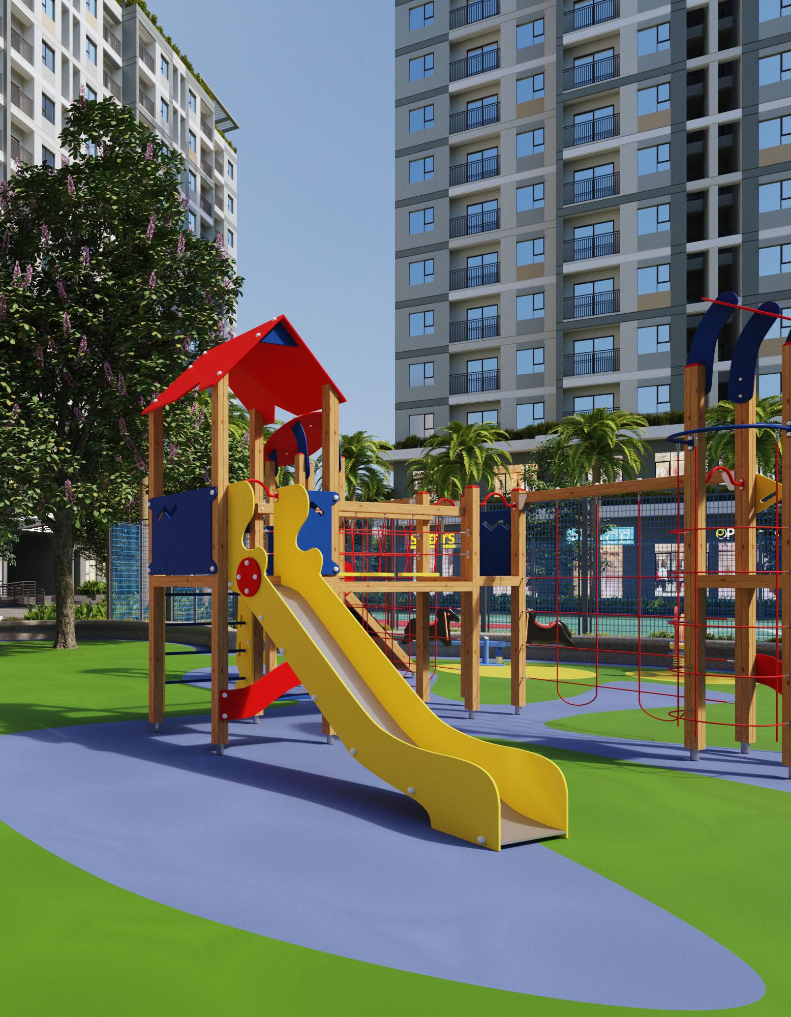 Sân chơi dành cho trẻ em
