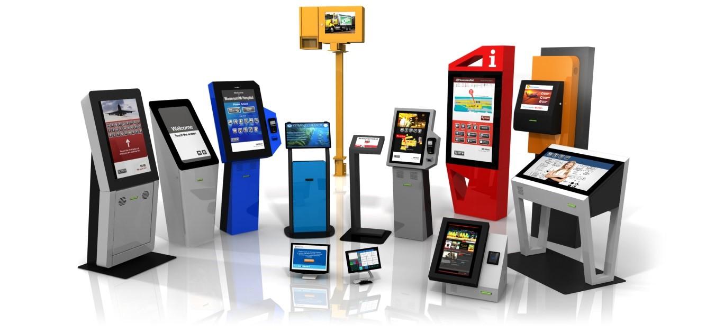 Màn hình Kiosk cảm ứng Hoàng Trần cho thuê 5