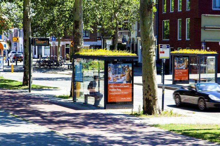 nhà chờ xe bus