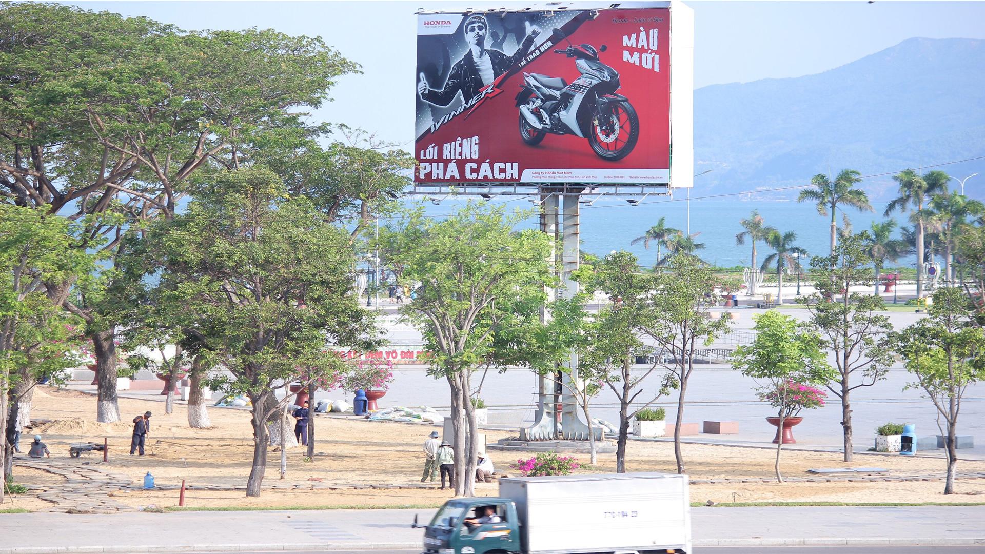 HONDA quảng cáo