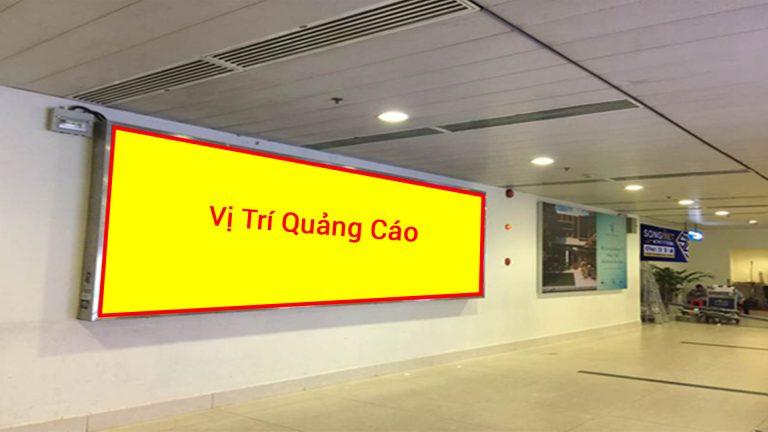 Hộp Đèn Ốp Tường Tại Khu Vực Băng Chuyền Số 6 Ga Đến Quốc Nội Tại Sân Bay Tân Sơn Nhất TSN-12 – Quận Tân Bình – Tp. Hồ Chí Minh