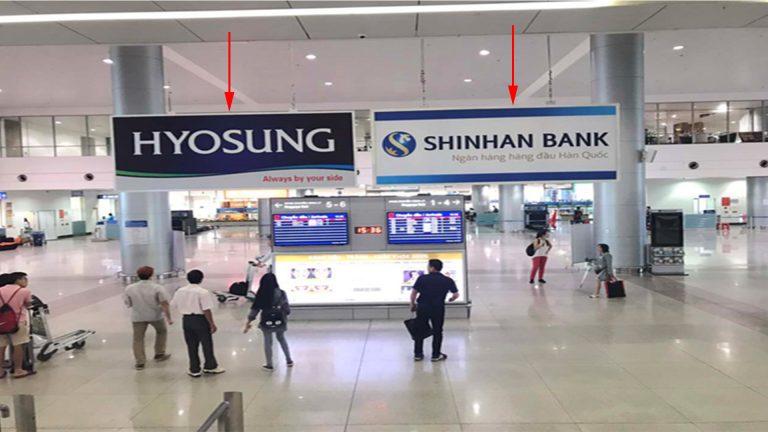 Hộp Đèn Tại Khu Vực Nhận Hành Lý Băng Chuyền 5-6 Và 1-2 Sân Bay Quốc Tế Tân Sơn Nhất TSN-22 – Quận Tân Bình – Tp. Hồ Chí Minh