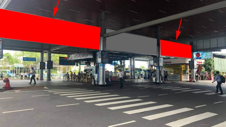 Hộp Đèn Tại Thả Mái Che Đưa Đón Khách Sảnh Công Cộng – Ga Quốc Nội – Sân Bay Cam Ranh – Tp. Cam Ranh – Tỉnh Khánh Hòa (2 Vị Trí)