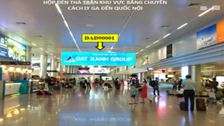 Hộp Đèn Thả Trần Tại (DDA90001) Sân Bay Đà Nẵng – Quận Hải Châu – Tp. Đà Nẵng