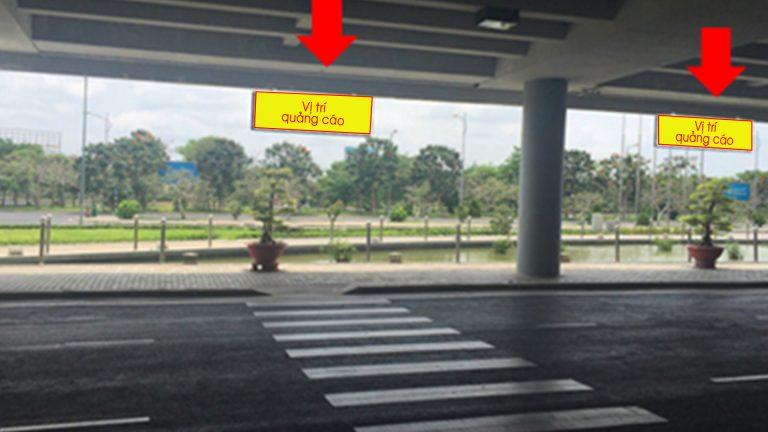 Hộp Đèn Treo Thả Tại Khu Vực Công Cộng, Gầm Cầu Cạn – Sân Bay Quốc Tế Cần Thơ – Quận Bình Thủy – Tp. Cần Thơ (4 Bảng)