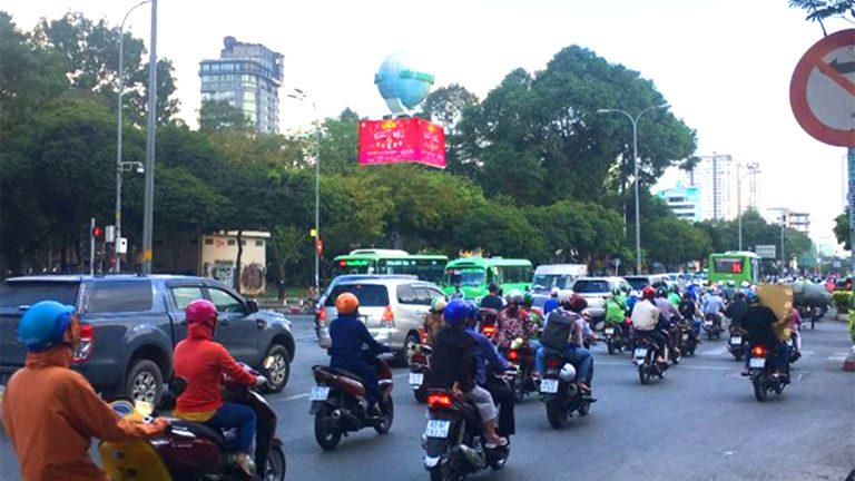 Led Outdoor 4 Mặt Tại Ngã Tư Nguyễn Thị Nghĩa + Lê Lai – Phường Phạm Ngũ Lão – Quận 1 – Tp. Hồ Chí Minh