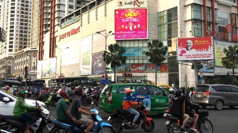 Led Outdoor Tại Góc Đường 3.2 + Lê Đại Hành – Phường 15 – Quận 11 – Tp. Hồ Chí Minh