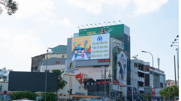 Led Outdoor Tại Nguyễn Thị Minh Khai – Cách Mạng Tháng 8, Quận 3 – Tp. Hồ Chí Minh