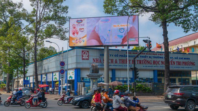 Led Outdoor Tại Nguyễn Tri Phương + Hùng Vương – Quận 5 – Tp. Hồ Chí Minh