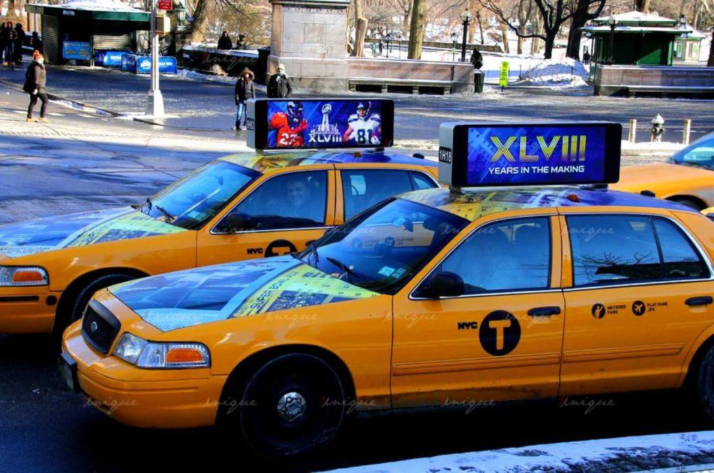 quảng cáo nóc taxi